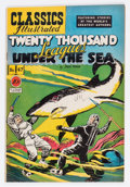 Golden Age (1938-1955):Classics Illustrated, Classics Illustrated #47 Original Edition Twenty Thousand LeaguesUnder the Sea (Gilberton, 1948) Condition: VF-....