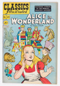 Golden Age (1938-1955):Classics Illustrated, Classics Illustrated #49 Original Edition Alice in Wonderland (Gilberton, 1948) Condition: Average VF-....