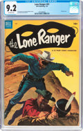 Golden Age (1938-1955):Western, Lone Ranger #61 (Dell, 1953) CGC NM- 9.2 Off-white pages....
