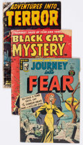 Golden Age (1938-1955):Horror, Comic Books - Assorted Golden Age Horror Comics Group of 5 (VariousPublishers, 1950s) Condition: Average FR.... (Total: 5 Comic Books)