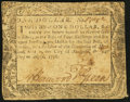 Colonial Notes:Maryland, Maryland August 14, 1776 $1 Very Fine.. ...