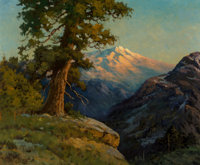 Robert William Wood (American, 1889-1979) High Seirra Vista Oil on canvas 25 x 30 inches (63.5 x