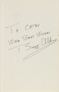 Autographs:Celebrities, Buzz Aldrin Signed Book: Return To Earth. ...