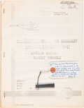 Explorers:Space Exploration, Apollo 5: NASA Technical Information Summary Book and FlownSegment of LM-1 Propulsion Tank. ... (Total: 4 )