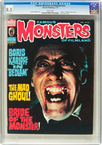 Famous Monsters of Filmland #131 (Warren, 1977) CGC VF+ 8.5 White pages