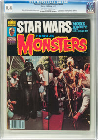 Famous Monsters of Filmland #139 (Warren, 1977) CGC NM 9.4 Off-white to white pages