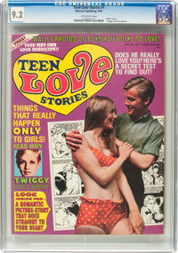 Teen Love Stories #1 (Warren, 1967) CGC NM- 9.2 Off-white pages