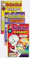 Bronze Age (1970-1979):Cartoon Character, Richie Rich and Casper File Copies Box Lot (Harvey, 1974-82)Condition: Average NM-....