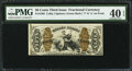 Fractional Currency:Third Issue, Fr. 1363 50¢ Third Issue Justice PMG Extremely Fine 40 EPQ.. ...