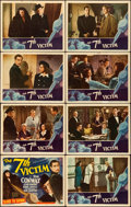 "Movie Posters:Mystery, The 7th Victim (RKO, 1943). Lobby Card Set of 8 (11"" X 14"").. ...(Total: 8 Items)"