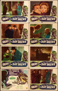 "Movie Posters:Horror, The Body Snatcher (RKO, 1945). Lobby Card Set of 8 (11"" X 14"")..... (Total: 8 Items)"