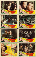 "Movie Posters:Horror, The Leopard Man (RKO, 1943). Lobby Card Set of 8 (11"" X 14"").. ...(Total: 8 Items)"