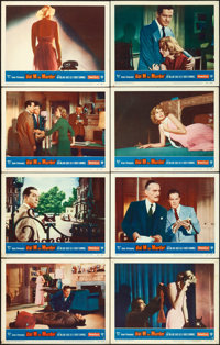"""Dial M for Murder (Warner Brothers, 1954). Lobby Card Set of 8 (11"""" X 14""""). ... (Total: 8 Items)"""