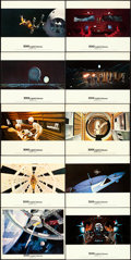 "Movie Posters:Science Fiction, 2001: A Space Odyssey (MGM, 1968) Cinerama Style. British ColorPhoto Set of 16 (8"" X 10"").. ... (Total: 16 Items)"