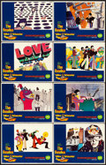 "Movie Posters:Animation, Yellow Submarine (United Artists, 1968). Lobby Card Set of 8 (11"" X14""). ... (Total: 8 Items)"