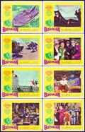 "Movie Posters:Action, Batman (20th Century Fox, 1966). Lobby Card Set of 8 (11"" X 14"")..... (Total: 8 Items)"