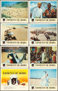 """Movie Posters:Academy Award Winners, Lawrence of Arabia (Columbia, 1962). Lobby Card Set of 8 (11"""" X14"""").. ... (Total: 8 Items)"""