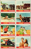 "Movie Posters:James Bond, Thunderball (United Artists, 1965). Lobby Card Set of 8 (11"" X 14"").. ... (Total: 8 Items)"