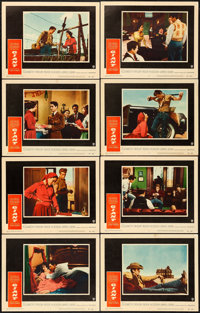 """Giant (Warner Brothers, 1956). Lobby Card Set of 8 (11"""" X 14""""). ... (Total: 8 Items)"""