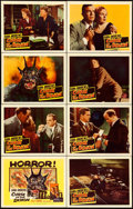 """Movie Posters:Horror, Curse of the Demon (Columbia, 1957). Lobby Card Set of 8 (11"""" X14"""").. ... (Total: 8 Items)"""