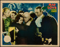"Movie Posters:Horror, Mad Love (MGM, 1935). Lobby Card (11"" X 14"").. ..."
