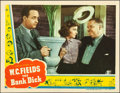 "Movie Posters:Comedy, The Bank Dick (Universal, 1940). Lobby Card (11"" X 14"").. ..."