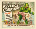 """Movie Posters:Horror, Revenge of the Creature (Universal International, 1955). Title Lobby Card (11"""" X 14"""").. ..."""