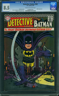 Detective Comics #362 (DC, 1967) CGC VF+ 8.5 Cream to off-white pages