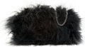 "Luxury Accessories:Bags, Halston Heritage Black Ostrich Feather Evening Bag. ExcellentCondition. 7"" Width x 4"" Height x 2"" Depth. ..."