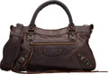 "Luxury Accessories:Bags, Balenciaga Brown Lambskin Leather Classic First Bag. Very GoodCondition. 13"" Width x 7"" Height x 2"" Depth. ..."