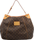 "Luxury Accessories:Bags, Louis Vuitton Classic Monogram Canvas Galliera Bag. Good to VeryGood Condition. 18"" Width x 14"" Height x 5"" Depth. ..."