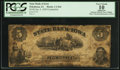 Obsoletes By State:Iowa, Oskaloosa, IA- State Bank of Iowa $5 Jan. 4, 1859 C264 Counterfeit....