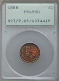 Proof Indian Cents: , 1880 1C PR65 Red PCGS. PCGS Population: (60/29). NGC Census: (25/14). CDN: $950 Whsle. Bid for problem-free NGC/PCGS PR65. ...