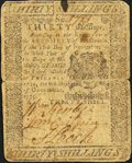 Colonial Notes:Pennsylvania, Pennsylvania December 8, 1775 30s Fine-Very Fine.. ...