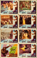 "Movie Posters:Horror, King Kong (RKO, R-1946). Lobby Card Set of 8 (11"" X 14"").. ..."