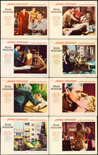 """Rear Window (Paramount, 1954). Lobby Card Set of 8 (11"""" X 14""""). ... (Total: 8 Items)"""