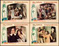 "Movie Posters:Drama, Sadie Thompson (United Artists, 1928). Lobby Cards (4) (11"" X14"").. ... (Total: 4 Items)"
