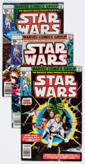 Bronze Age (1970-1979):Science Fiction, Star Wars Group of 27 (Marvel, 1977-79) Condition: Average FN.... (Total: 27 Comic Books)