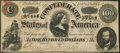 Confederate Notes:1864 Issues, Advertising Note T65 $100 1864.. ...