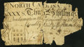 Colonial Notes:North Carolina, North Carolina March 9, 1754 30s About Good.. ...