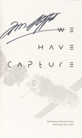 Autographs:Celebrities, Tom Stafford Signed Book: We Have Capture. ...