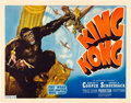 "Movie Posters:Horror, King Kong (RKO, R-1938). Half Sheet (22"" X 28"").. ..."
