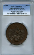 Expositions and Fairs, (1889) Medal International Industrial Exhibition, Buffalo, NY, SP65Brown PCGS....