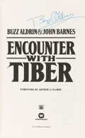 Autographs:Celebrities, Buzz Aldrin Signed Book: Encounter with Tiber. ...