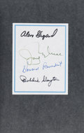 Autographs:Celebrities, Alan Shepard, Jay Barbree, Howard Benedict, and Bobbie SlaytonSigned Book: Moon Shot. ...