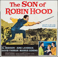 "Movie Posters:Adventure, The Son of Robin Hood & Other Lot (20th Century Fox, 1959). SixSheets (2) (79"" X 81"" & 78.5"" X 80""). Adventure.. ... (Total: 2Items)"