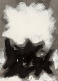 Works on Paper, Adolph Gottlieb (1903-1974). Opaque White, 1960. Oil on paper. 31-1/2 x 22-1/2 inches (80.0 x 57.2 cm). Signed and dated...