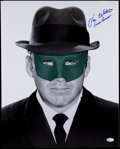 "Non-Sport Cards:Singles (Pre-1950), Van Williams ""Green Hornet"" Inscription Signed 16x20"" Photo. ..."