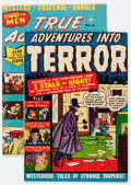 Golden Age (1938-1955):Horror, Adventures Into Terror #45 (#3) and True Adventures #6 CanadianEditions Group (Atlas, 1950-51).... (Total: 2 Comic Books)