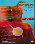 """Non-Sport Cards:Singles (Pre-1950), Rod Haase """"Flash"""" Legends of the Superheroes Signed 16x20 Photo...."""